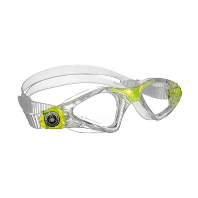 Aqua Sphere Kayenne Junior Goggles with Clear Lens Lime