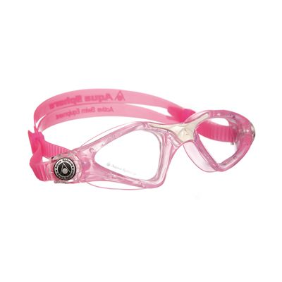 Aqua Sphere Kayenne Junior Goggles with Clear Lens Pink