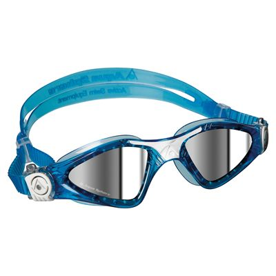 Aqua Sphere Kayenne Small Fit Swimming Goggles - Mirrored Lens - Image