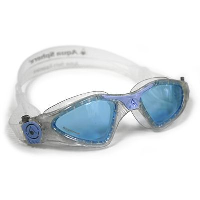 Aqua Sphere Kayenne Swimming Goggles - Blue Lens