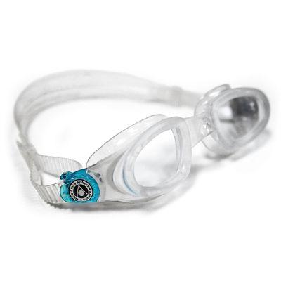 Aqua Sphere Mako Swimming Goggles-Clear Lens-Clear/Aqua