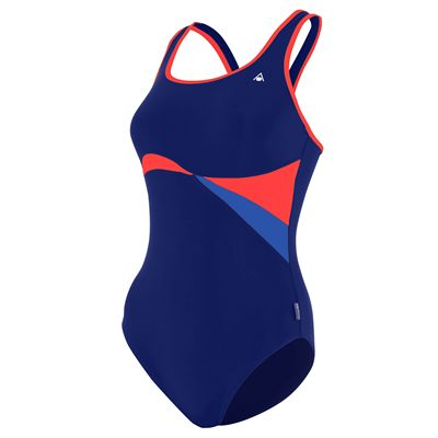 Aqua Sphere Maputo Ladies Swimsuit -  Blie/Red