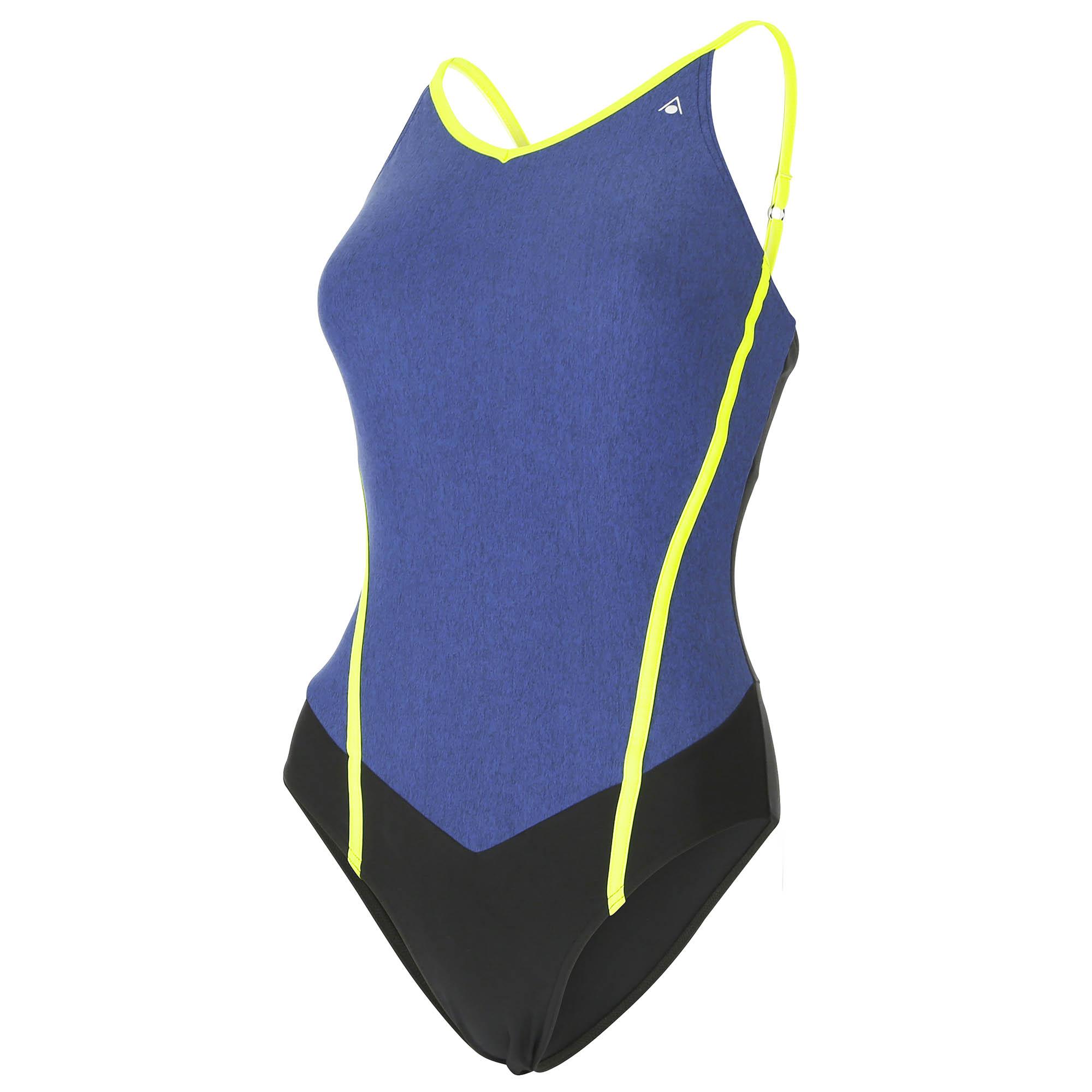 Aqua Sphere Muriel Ladies Swimsuit  BlackBlue 40