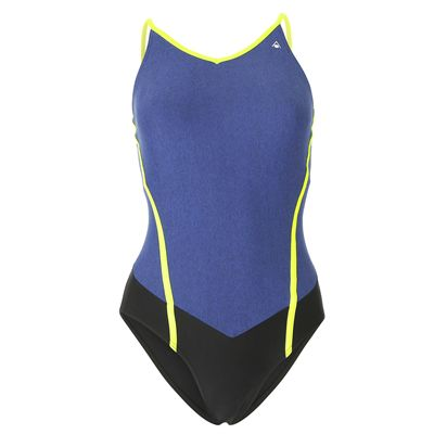 Aqua Sphere Muriel Ladies Swimsuit - Front/Blue
