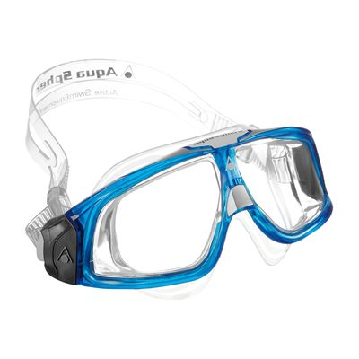 Aqua Sphere Seal 2.0 Clear Lens-Clear and Blue