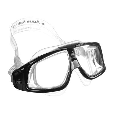 Aqua Sphere Seal 2.0 Clear Lens -Black and Grey