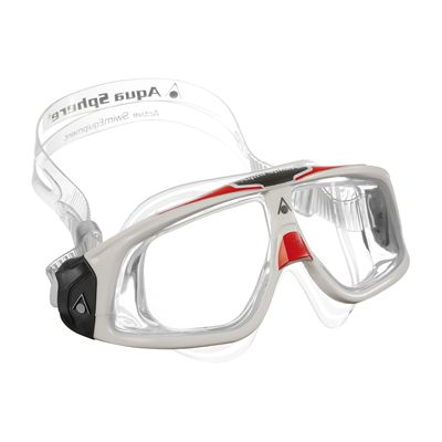 Aqua Sphere Seal 2.0 Clear Lens -White and Red