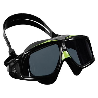 Aqua Sphere Seal 2.0 Tinted Lens -Black and Green