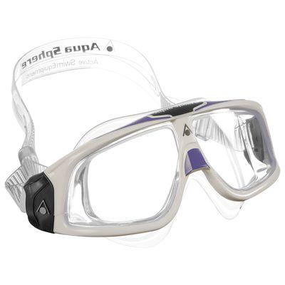 Aqua Sphere Seal 2.0 Lady Lens -White/Lavender