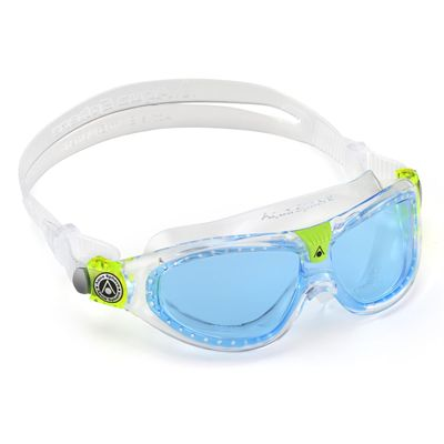 Aqua Sphere Seal 2 Kids Swimming Mask - Blue Lens 2018 - Angled