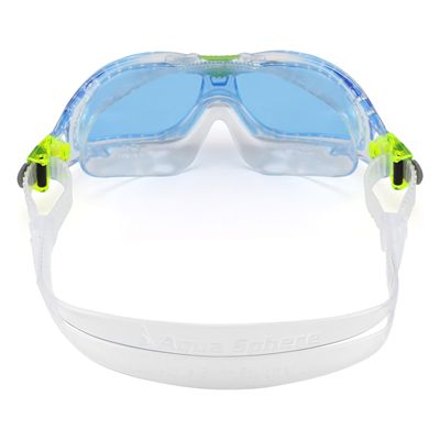 Aqua Sphere Seal 2 Kids Swimming Mask - Blue Lens 2018 - Back