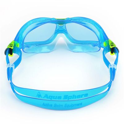 Aqua Sphere Seal 2 Kids Swimming Mask - Blue Lens 2018 - Blue - Back