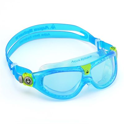 Aqua Sphere Seal 2 Kids Swimming Mask - Blue Lens 2018 - Blue - Left