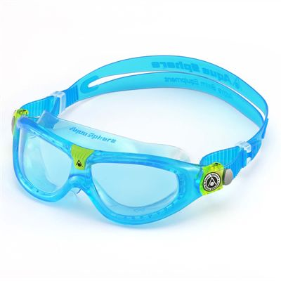 Aqua Sphere Seal 2 Kids Swimming Mask - Blue Lens 2018 - Blue