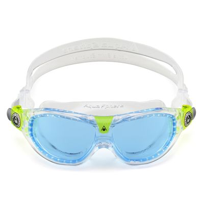Aqua Sphere Seal 2 Kids Swimming Mask - Blue Lens 2018 - Front