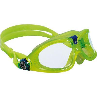 Aqua Sphere Seal 2 Kids Swimming Mask - Clear Lens - Lime