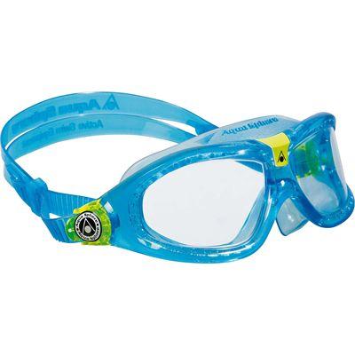 Aqua Sphere Seal 2 Kids Swimming Mask - Clear Lens - Blue