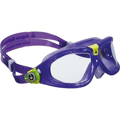 Aqua Sphere Seal 2 Kids Swimming Mask - Clear Lens - Violet