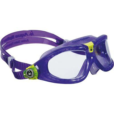 Aqua Sphere Seal 2 Kids Swimming Mask - Clear Lens - Violet