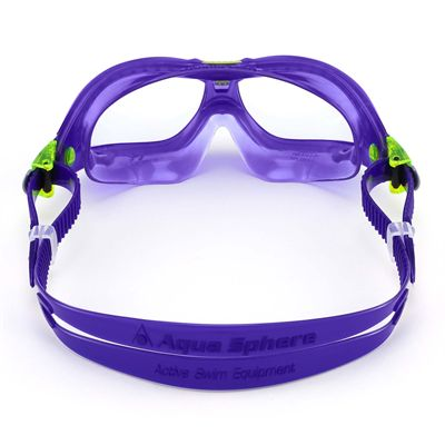 Aqua Sphere Seal 2 Kids Swimming Mask - Clear Lens - Back