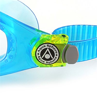 Aqua Sphere Seal 2 Kids Swimming Mask - Clear Lens - Blue - Zoomed