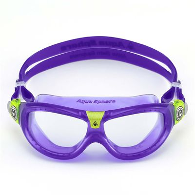 Aqua Sphere Seal 2 Kids Swimming Mask - Clear Lens - Front