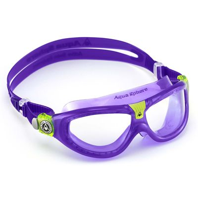 Aqua Sphere Seal 2 Kids Swimming Mask - Clear Lens - Left