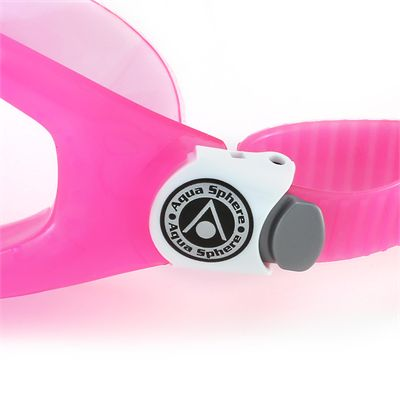 Aqua Sphere Seal 2 Kids Swimming Mask - Clear Lens - Pink - Zoomed
