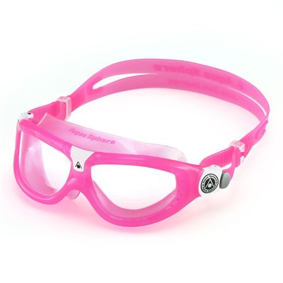 Aqua Sphere Seal 2 Kids Swimming Mask - Clear Lens - Pink