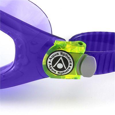 Aqua Sphere Seal 2 Kids Swimming Mask - Clear Lens - Zoomed