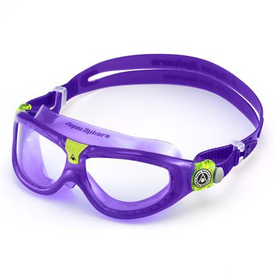 Aqua Sphere Seal 2 Kids Swimming Mask - Clear Lens
