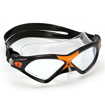 Aqua Sphere Seal XP2 Swimming Goggles - Black/Orange