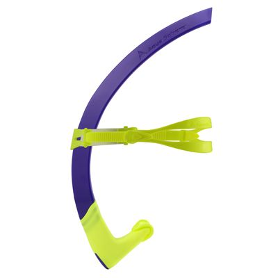 Aqua Sphere Small Focus Snorkel - Purple/Side