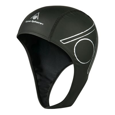 Aqua Sphere Speed Plus Swimming Cap - Black