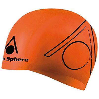 Aqua Sphere Tri Silicone Swimming Cap Orange