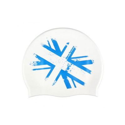 Aqua Sphere Union Jack Silicone Cap Junior