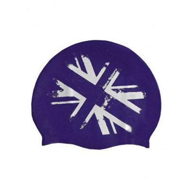 Aqua Sphere Union Jack Silicone Cap Senior b