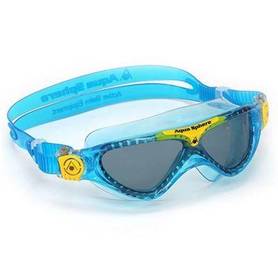 Aqua Sphere Vista Junior Goggles - Blue/Yellow