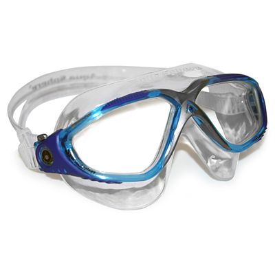 Aqua Sphere Vista Swimming Mask - Black/Blue