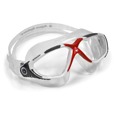Aqua Sphere Vista Swimming Mask - Red/White