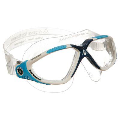 Aqua Sphere Vista Swimming Mask - White/Blue