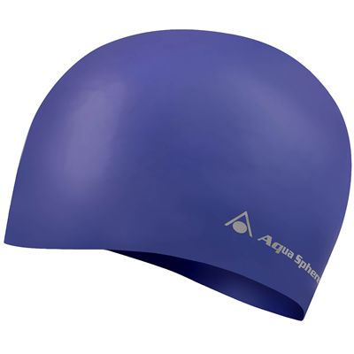 Aqua Sphere Volume Long Hair Swimming Cap - Purple