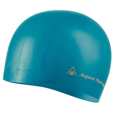Aqua Sphere Volume Long Hair Swimming Cap - Turquoise