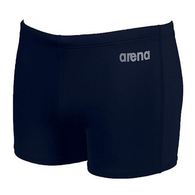 Arena Bynars Mens Swimming Shorts - Navy/Silver - Front View