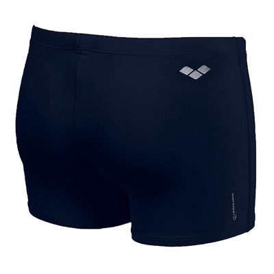 Arena Bynars Mens Swimming Shorts - Navy/Silver -Back View