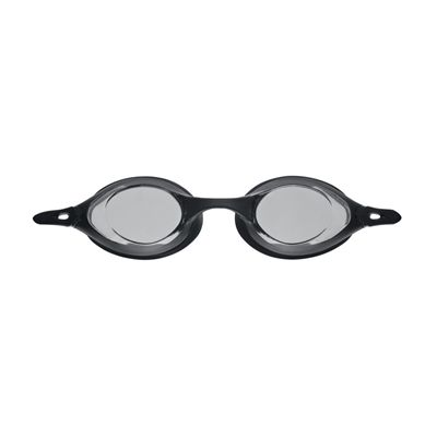 Arena Cobra Swimming Goggles-Smoke and Black-Front View