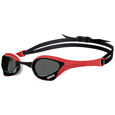 Arena Cobra Ultra Swimming Goggles - Black/Red