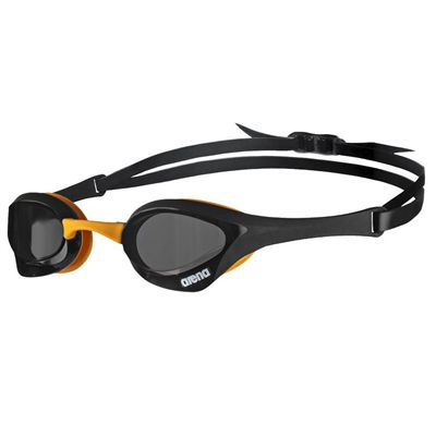 Arena Cobra Ultra Swimming Goggles - Black/Orange