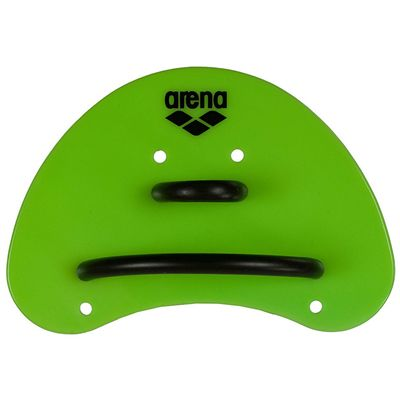 Arena Elite Finger Paddles - Lime