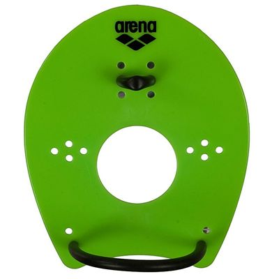 Arena Elite Hand Paddles - Lime/Black